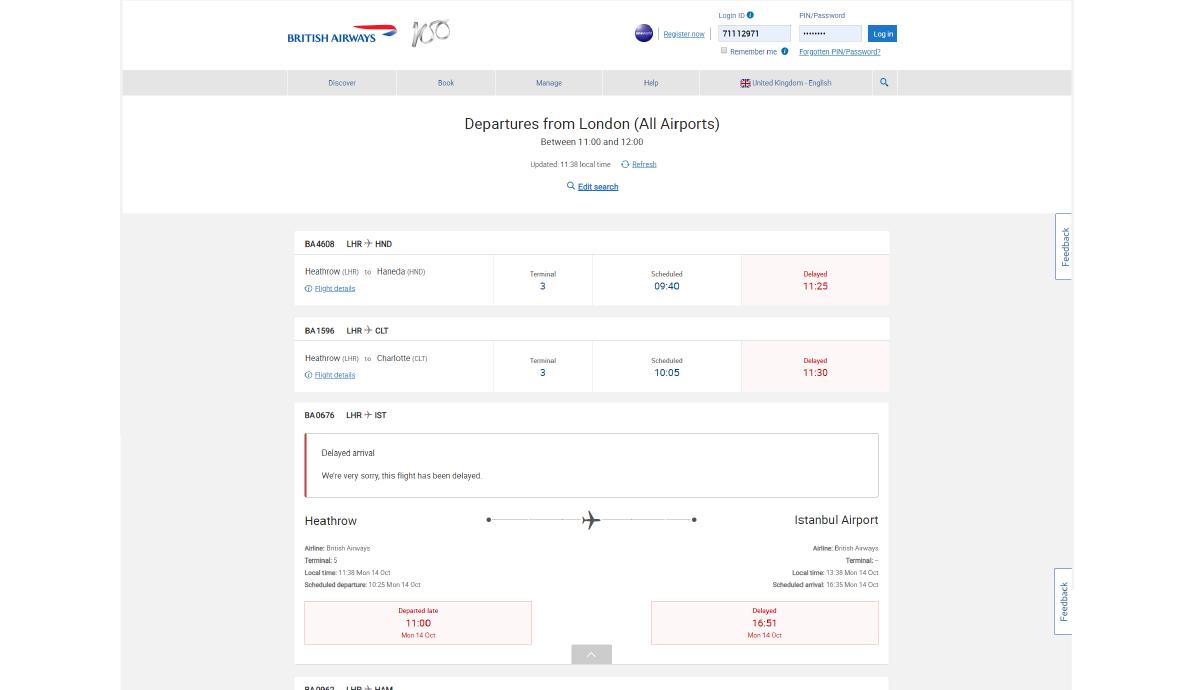 Flight disruption project 3